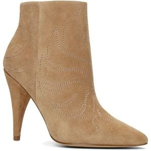ALDO - Dinoto, Size 7.5, Suede/Leather Booties